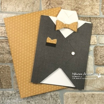Manly Vest Birthday Card