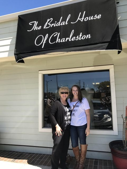 Wedding Dress Shopping in Charleston