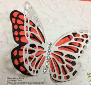 Butterflies Thinlet Dies Card