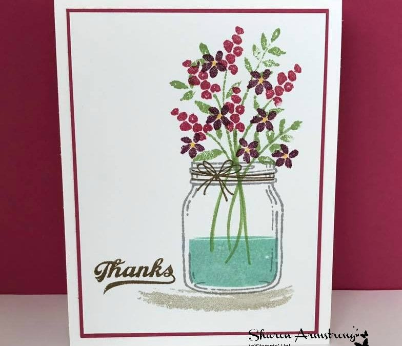 Opening A Jar of Thanks To All