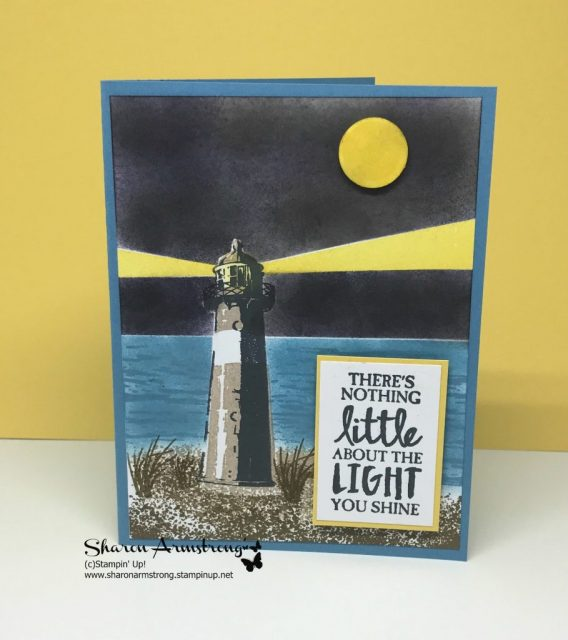 Tips on Sponging and Masking High Tide Cards