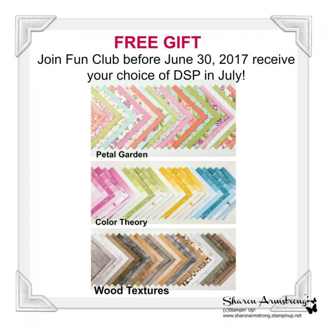 Free Gift for Joining Fun Club