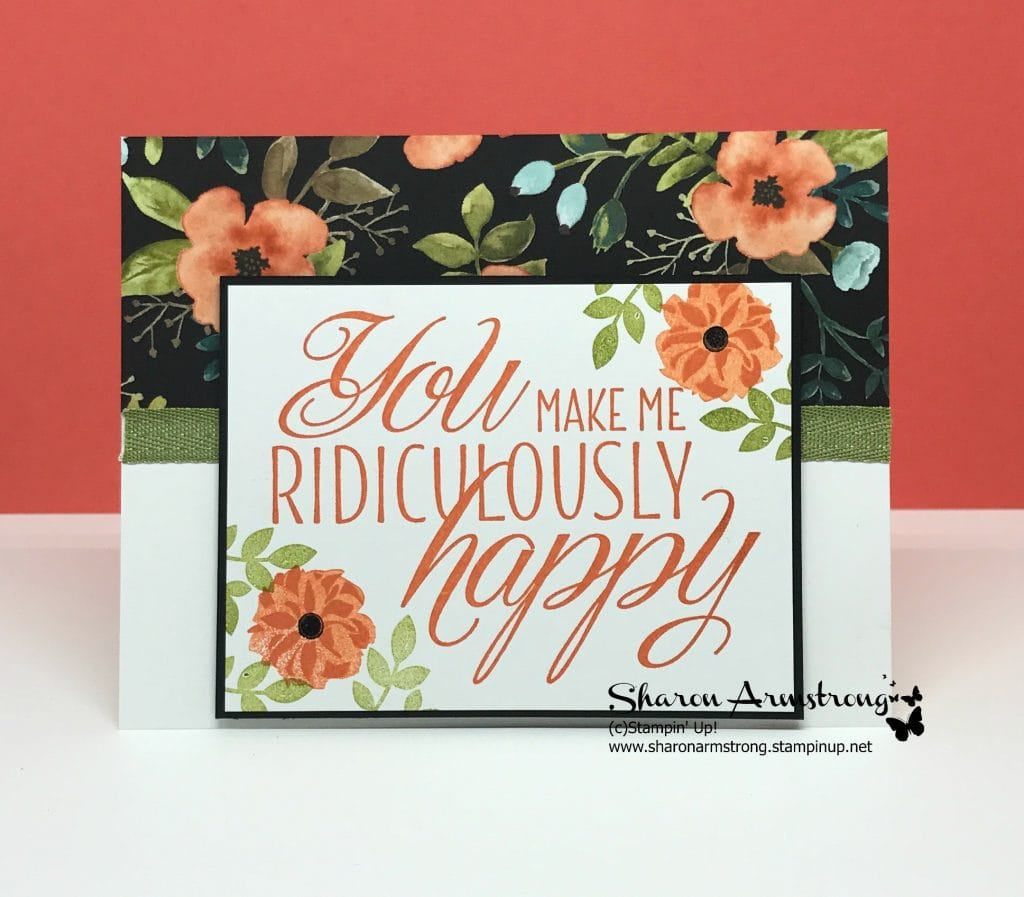 Lovely Friends You Make Me Ridiculously Happy Tx Stampin