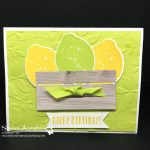 Lemon Zest Happy Birthday!
