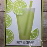 Margarita Happy Birthday with Lemon Zest