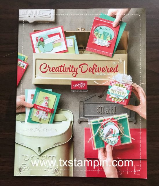 Stampin Up Holiday Catalog 2017