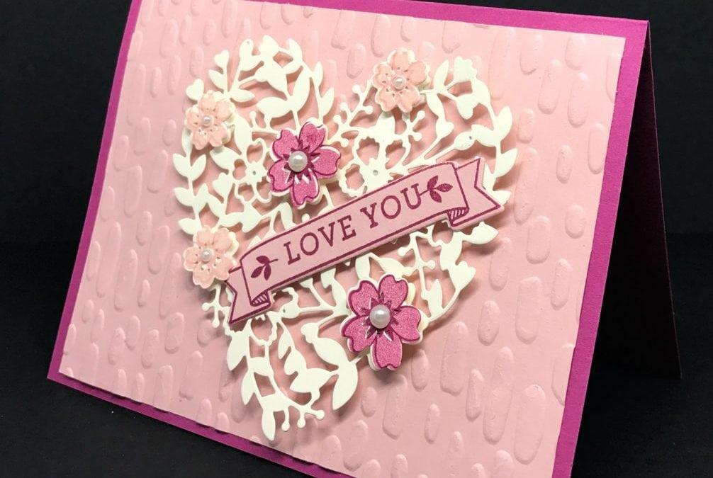 Bloomin' Love meets Sweetheart Texture