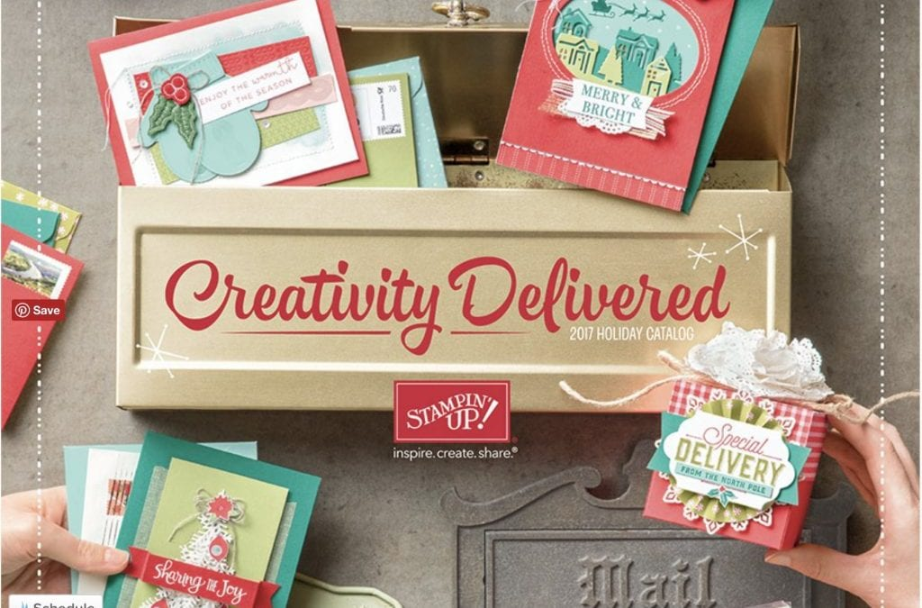 Stampin' Up! 2017 Holiday Catalog is Live Today!