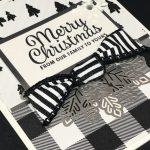 Snowflake Sentiments Merry Christmas