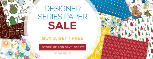 Stampin' Up! DSP Sale