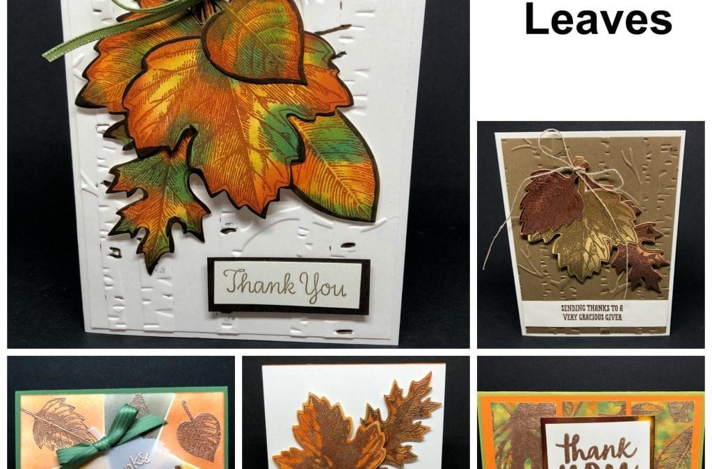 Vintage Leaves Thankful Thoughts Online Card Class