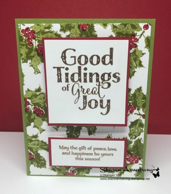 Good Tidings Stamp Set