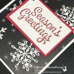 Snowflake Sentiments Season's Greetings