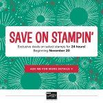 Stampin' Up! Online Extravaganza Starts Monday