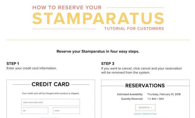 Reserve Stamparatus