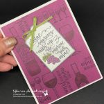 Stampin' Up! Extravaganza and Half Full Inspiration