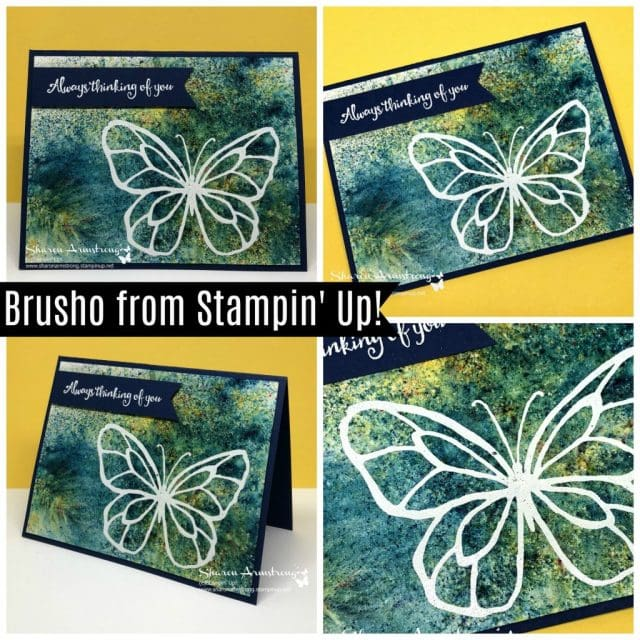 Brusho from Stampin' Up!