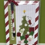 Ready for Christmas Note Pad Holder