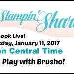 Brusho Facebook Live January 11