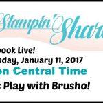 Brusho Facebook Live January 11