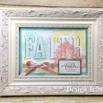 Heartfelt Blooms FAITH Frame
