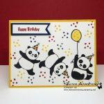 Party Pandas Wishing Happy Birthday!