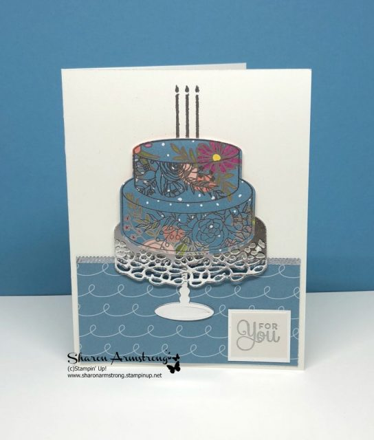 Cake Soiree Card for my Birthday