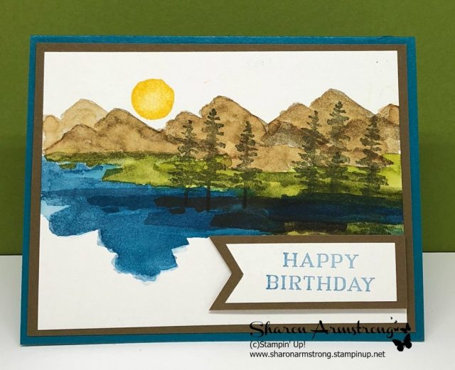 Waterfront Set perfect for Masculine Birthday