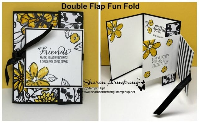 Double Flap Fun Fold for Friends