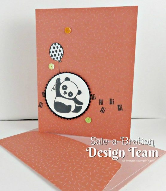 Party Panda Pouch of Cards