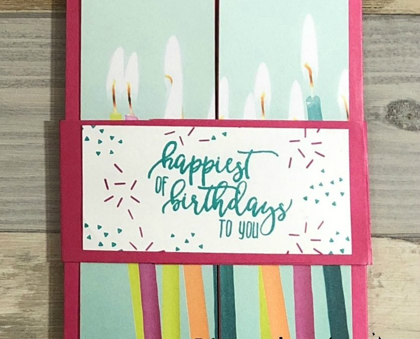 Shutter Card Picture Perfect Birthday