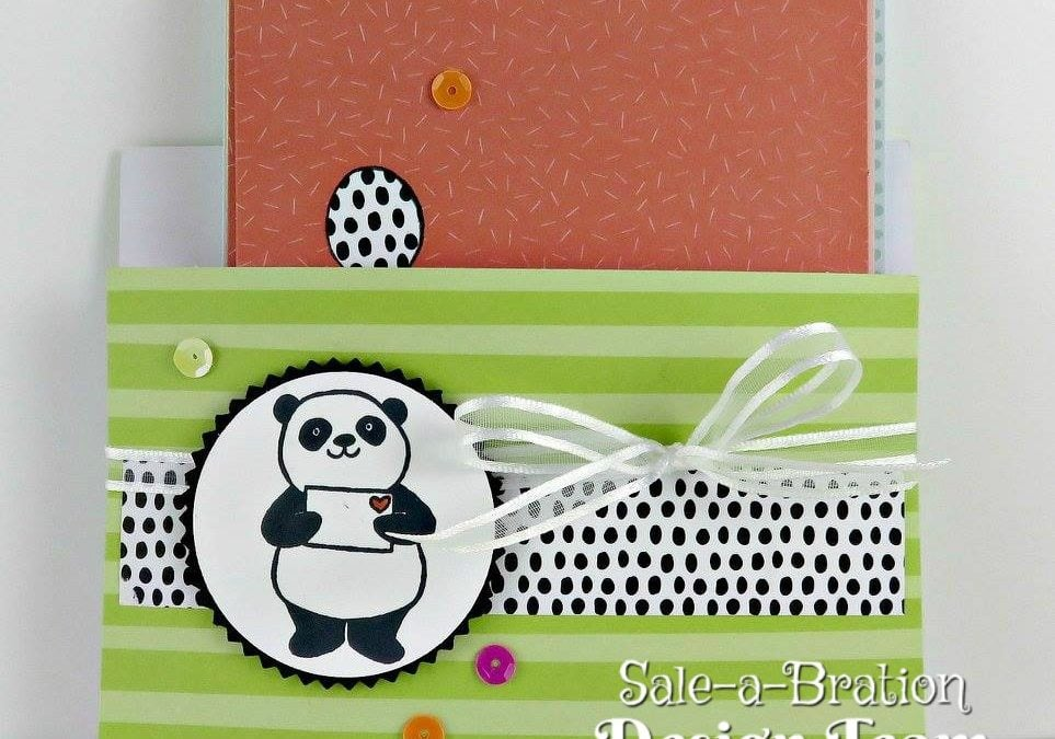 Party Panda Pouch of Cards SAB Design Team