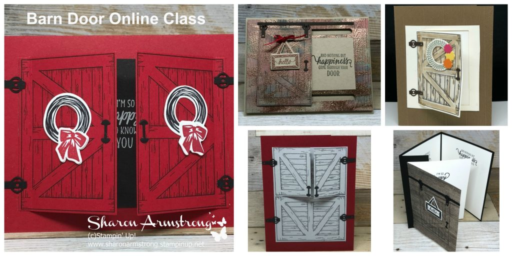 Barn Door Bundle Stampin' Up!