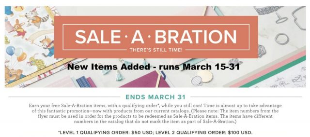 New Choices for Sale-A-Bration added