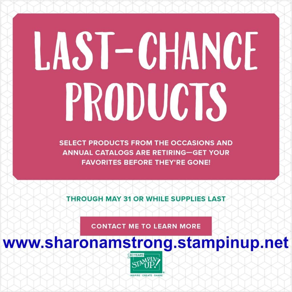 Stampin' Up! Announces Retiring List 2018