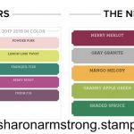 New Stampin' Up! Colors and New Style Ink Pad