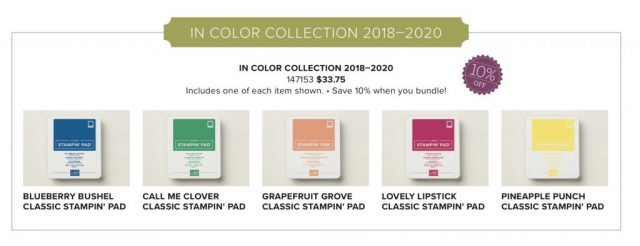 New 2018-2020 InColors