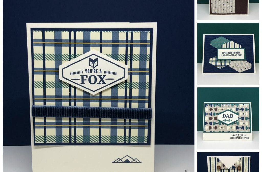 Five Truly Tailored Manly Cards