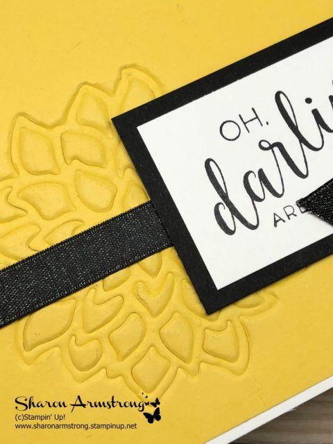 How to use Stampin' Up! Embossing Mats