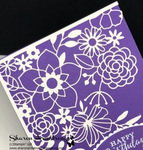 delightfully detailed laser cut specialty paper by stampin up