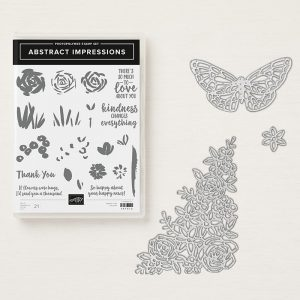 Abstract Impressions Bundle stampin up