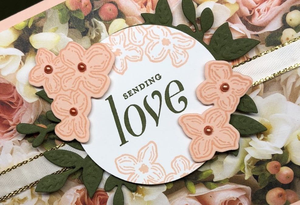 Easy Card making with Stampin' Up! Floral frames