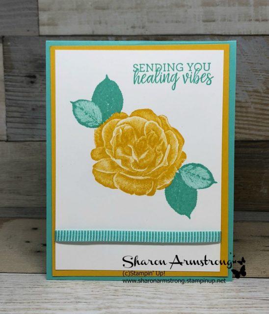 Healing Hugs Get Well Card Inspiration