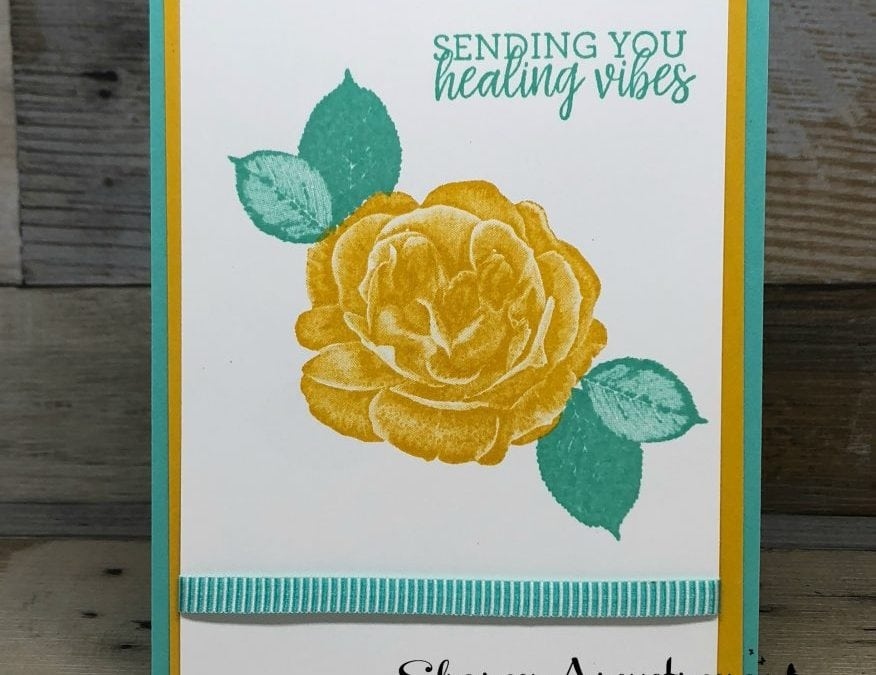 Healing Hugs Get Well Card Inspiration