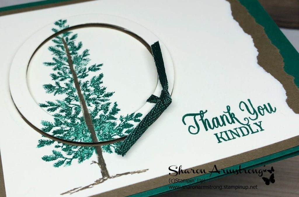 Lovely As A Tree Inspiration Card