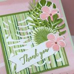 Stampin Up! Tropical Chic Thank You Card