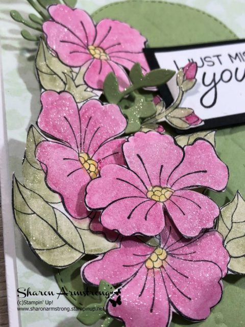 coloring techniques with stampin up blended seasons