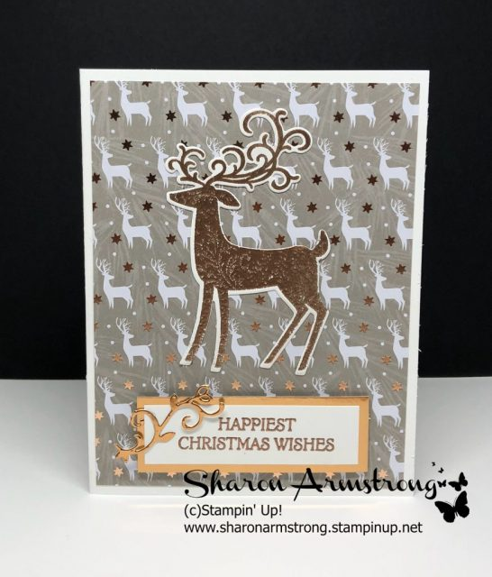 Stampin up Dashing Deer