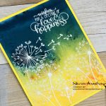 Brusho Dandelion Wishes