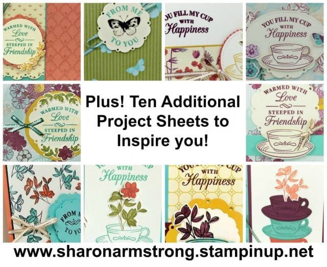 Card Making Kits with Sharon Armstrong, TxStampin